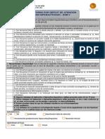 Trastorno Por Déficit de Atención Con Hiperactividad DSM V
