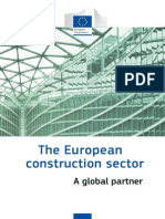 The European Construction Sector - A Global Partner