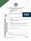 Soalan Percubaan PT3 KHB KT Kedah 2014