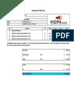 Presupuesto Barandas - Mopa SAC - C.C Plaza Toros