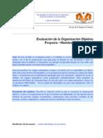 Evaluaci¢n de la Organizaci¢n Objetivo CNTI.doc