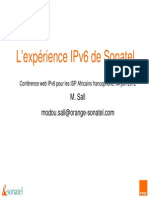 Experience IpV6