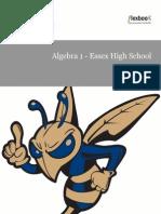 Algebra 1 EHS 2014-2015, no Stats