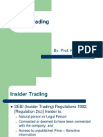 Insider Trading A