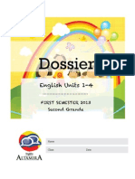 Dossier 2nd Grade Unit1-4