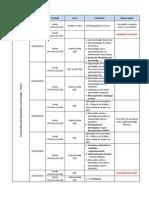 Calendário Da Disciplina Com Conteudo