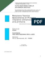 05 - Relazione Specialistica Impianti Climatizzazione e UTA