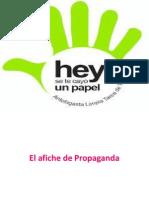 Afiche de Propaganda