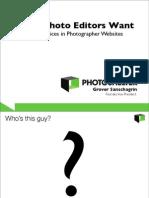FOT - MARKETING - What Photo Editors Want