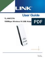 TL-WN727N User Guide