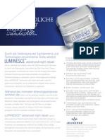 Luminesce Adavanced Night Repair Deutsch