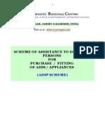 ADIP Scheme