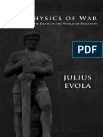 Metaphysics of War - Evola, Julius