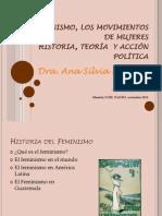 ASMonzon El Feminismo, Los Movimientos de Mujeres 2012