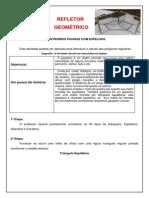 Atividade Utilizamdo Refletor Geométrico