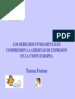 02.- Libertad de Expresion Como Derecho Fundamental en La Union Europea