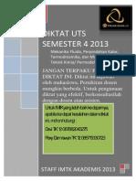 Diktat UTS Semester 4