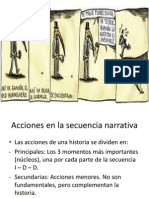 Acciones en La Secuancia Narrativa