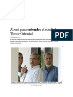 Abecé Para Entender El Conflicto en Timor Oriental