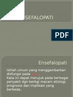 ENSEFALOPATI