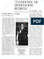 Cuadernos de Budismo Nº5 Primavera 1986