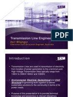 Presentation Transmission Line Design Rev0