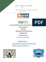 Big Bazaar and D-mart