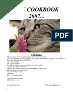 TDK cook book updated 8/8/2007