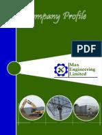 Company Profile Max Engineering
