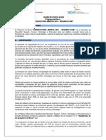 Bases de Postulación Convocatoria Abierta 2014 Segunda Fase