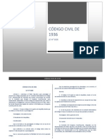 Código Civil Peruano de 1936