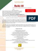 Curso Reiki-III 2014 en Cartagena