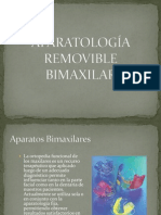 Aparatologia Bimaxilar Ortodoncia Interceptiva
