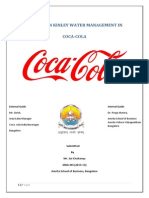 Project on Kinley Water Management in Coca-cola (2)