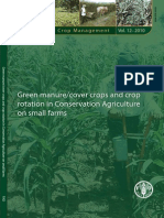 Rotación de Cultivos Para Granjas FAO