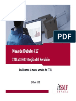 01 ITILv3 - Estrategia Del Servicio