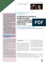 Il Progetto Ricerca Clinica Guna – Gold Standarddi Innovative Terapie Low Dose