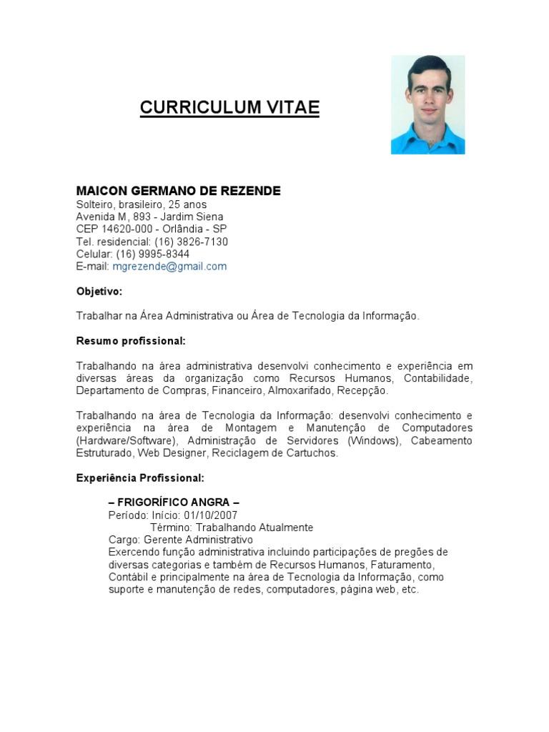Famoso Director De Recursos Humanos Objetivo De Currículum ...