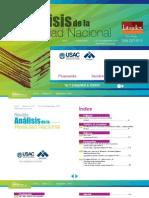Revista Análisis de la Realidad Nacional No. 57