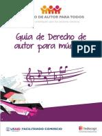 Guia de Derechos de Autor Para Músicos- Indecopi
