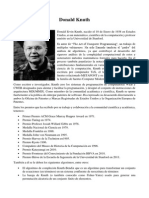 Donald Knuth - Kevin Christian Rodríguez Siu