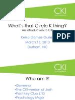 Key Club DCON Presentation