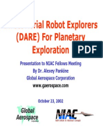 Dare for Planetary Exploration