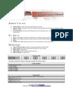 Celtos Reference Sheet