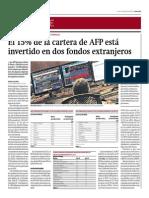 15% Cartera de AFP Está Invertido en Dos Fondos Extranjeros_Gestión 1-09-2014