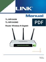 Manual Utilizare TL-WR1043ND Ro
