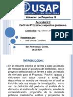 Actividad 2 Perfil Del Proyecto y Aspectos Generales