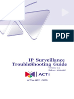 IP Surveillance TroubleShooting Guide_V0.9