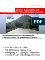 S34_Improvement of Concrete Sustainability and Performance Using Portland-Limestone Cements_LTC2013