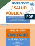 REGLAMENTO SANITARIO INTERNACIONAL 2005 2da Ed.ppt